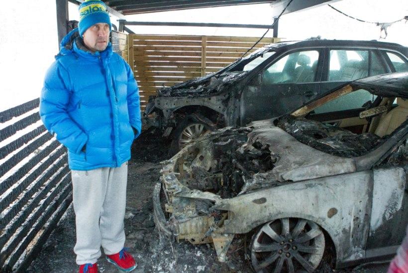 Allar Levandi: kõlas paar pauku ja siis olid mõlemad autod leekides
