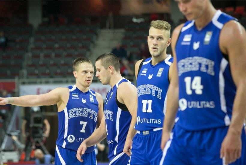 LÄKS KESKMISELT: Eesti korvpallikoondis kohtub EM-valiksarjas Poola, Valgevene ja Portugaliga