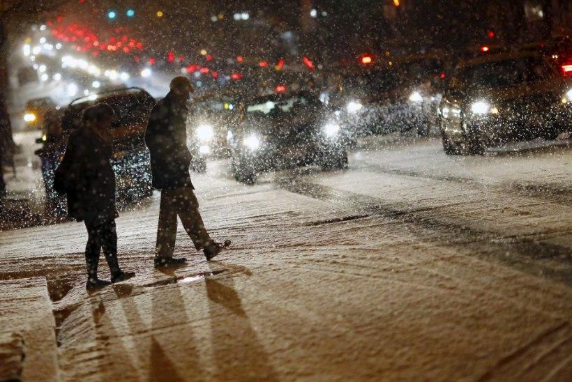 USA idarannikul valmistub 50 miljonit inimest erakordseks lumetormiks