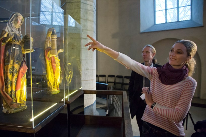 Vana-Võidu mõisast avastati seinamaalingud, mis kujutavad Vana-Rooma aegu