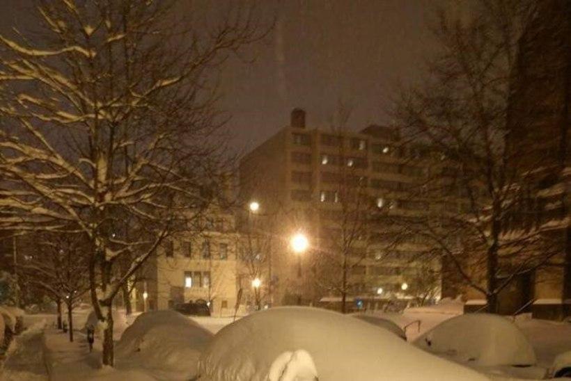 Eestlanna Washington DC lumetormis: siin on tegelikult tavaline Eesti ilm!