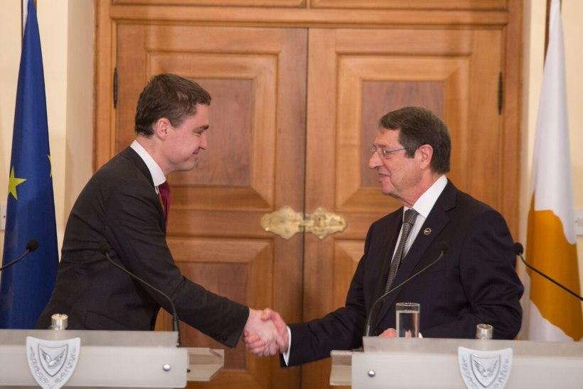 Rõivas: Eesti kogemus toetab Küprose arengut