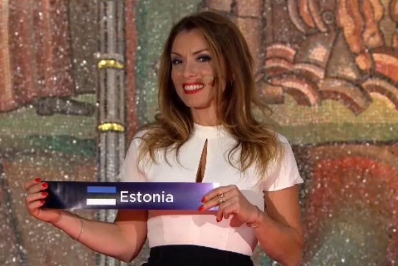 Eesti astub tänavu Eurovisioni lavale esimese poolfinaali teises pooles