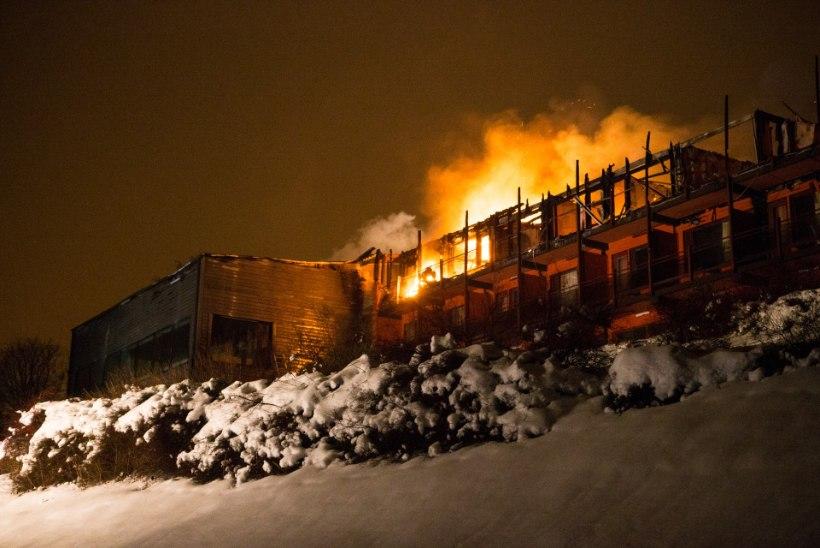 Otepääl hävis tules hotell