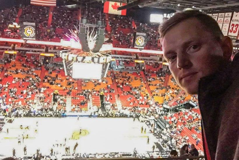 Purjetaja Karl-Martin Rammo: NBA mäng on nagu kontsert!