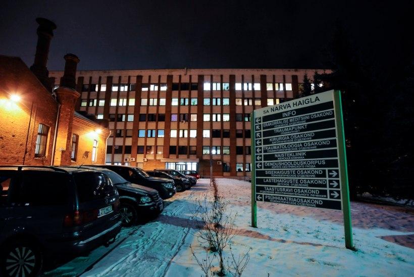 Narva haigla aknast kukkus surnuks vanadaam, Tallinna haigla aknast eakas härra
