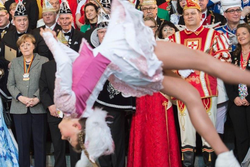 FOTOD | Merkel avas karnevalihooaja