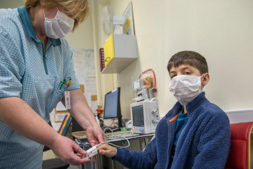 Lastehaigla sulges gripi tõttu külastajatele uksed