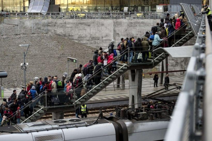 Saksamaa konfiskeerib varjupaigataotlejatelt rohkem kui Taani