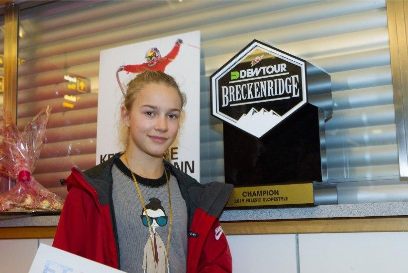 FOTOD | Vaata, kui robustse medali Kelly Sildaru täna kaela võib saada!