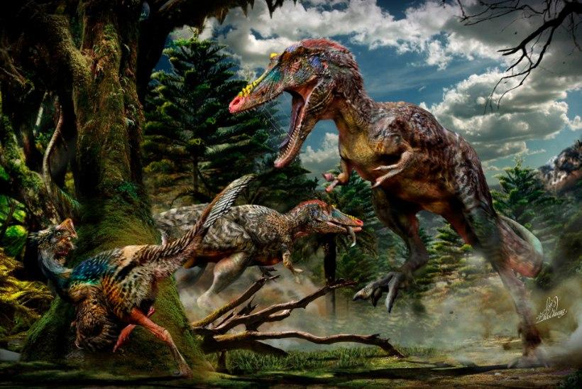 Kui väle oli türannosaurus?