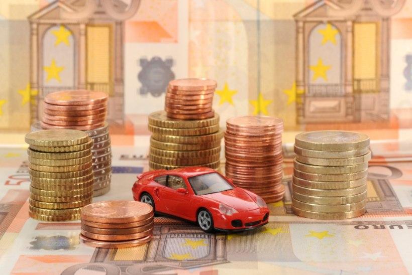 EBAÕNNESTUNUD KATSE: firmaautodelt jäid aasta lõpuks soovitud maksumiljonid tulemata