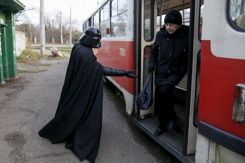 Darth Vader elab Ukrainas