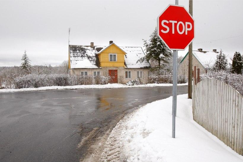 AUTOJUHID, ETTEVAATUST!  Maanteedel võib olla puid ja oksi