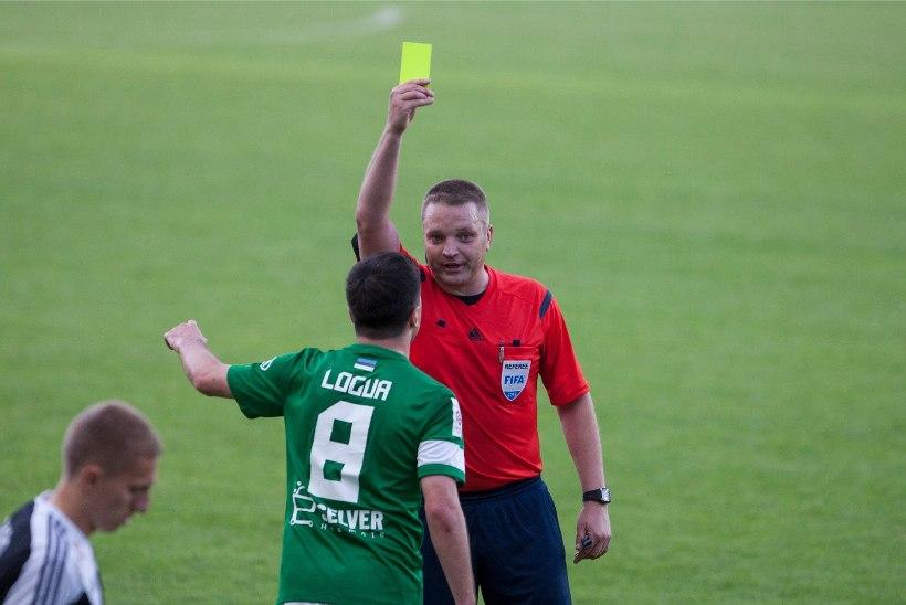 Eesti vahetas FIFA nimekirjas välja kaks jalgpallikohtunikku