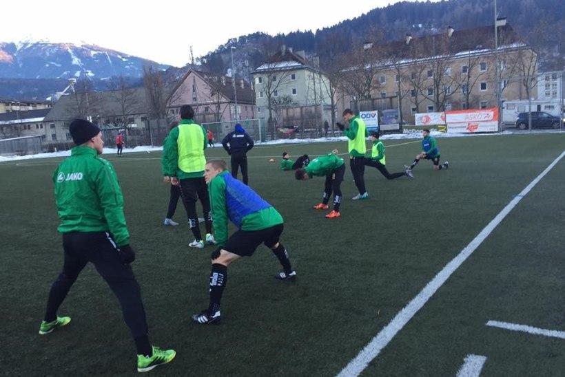 VIDEO | Henrik Ojamaa andis treeningmängus kaks väravasöötu