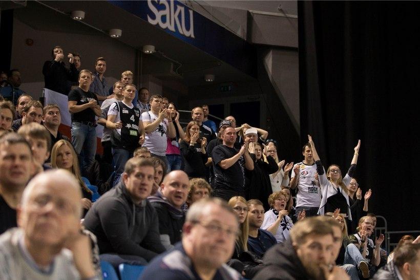 GALERII   BC Kalev/Cramo alistas põnevas kohtumises TÜ/Rocki