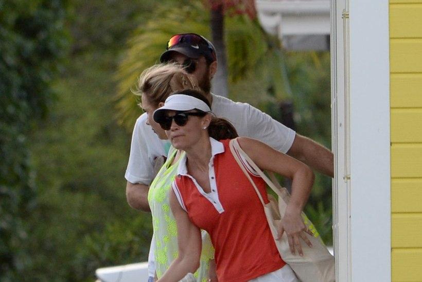 FOTOD | Pippa Middleton käis vennaga tennist mängimas
