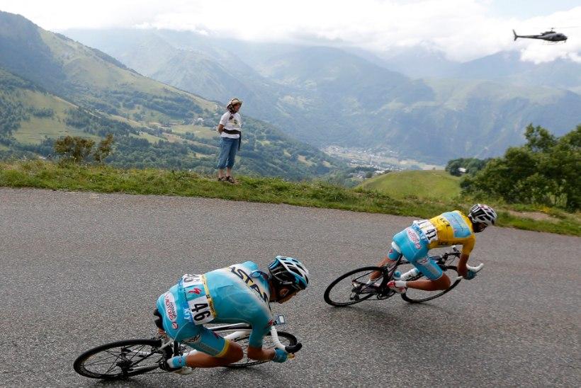 Itaalia meedia: Nibali siirdub Astanast USA tiimi ja võtab Kangerti kaasa?