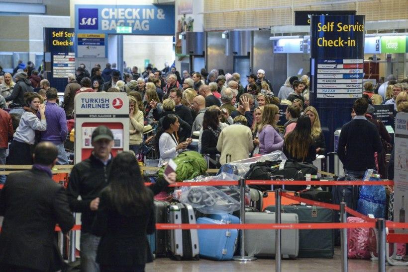 POMM? Arlanda lennuväljal uuritakse kahtlast pakki