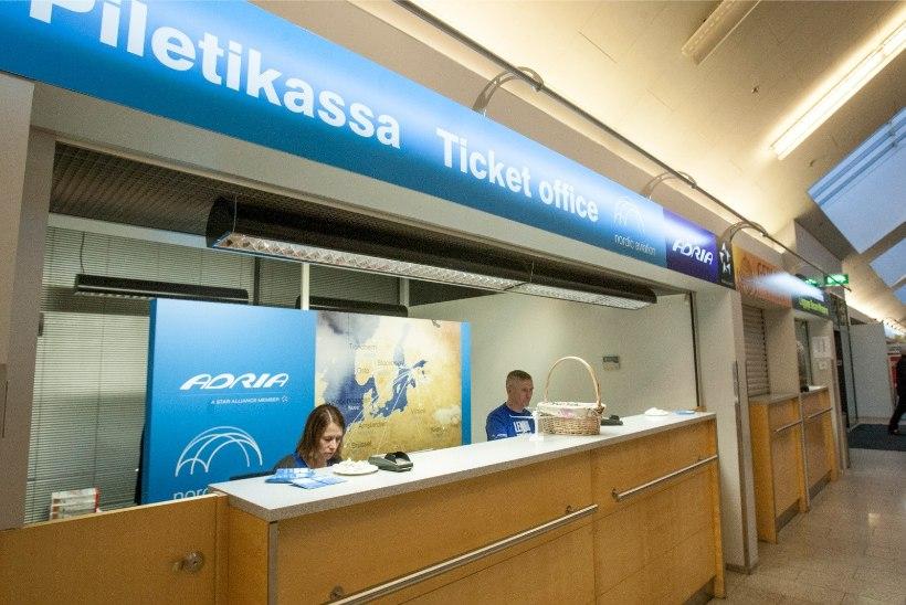 Avies jättis liigse kütuse tõttu kaks Tallinnasse lennata soovinud reisijat maha