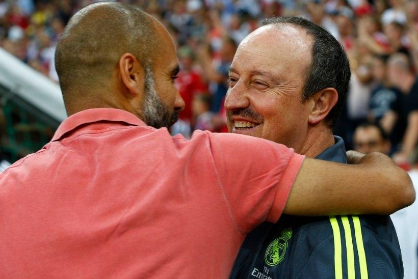 Real soovis Beniteze asendajaks palgata katalaan Guardiolat