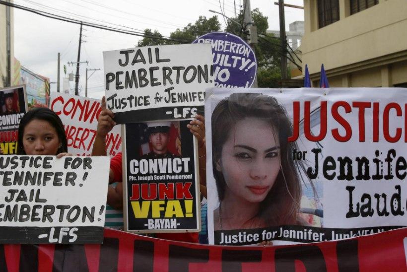 Filipiinidel transseksuaali tapnud USA merejalaväelane taotleb kergemat karistust