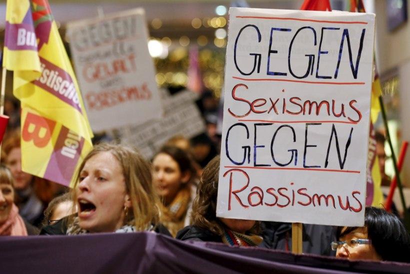 FOTOD   Aastavahetuse seksuaalvägivald Kölnis ajas naised tänavale protestima