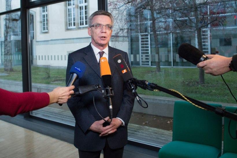 Saksa siseminister sarjas Kölni politseid