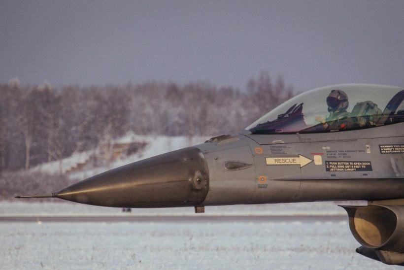 GALERII | Belgia hävitajad asusid Ämarist kaitsma Balti riikide õhuruumi