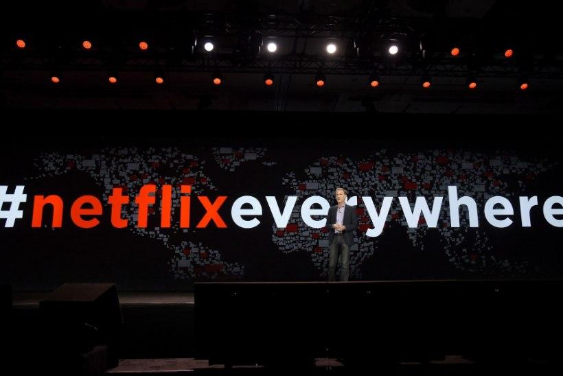 Netflix jõudis Eestisse, aga ei taha kogu oma valikut siin näidata