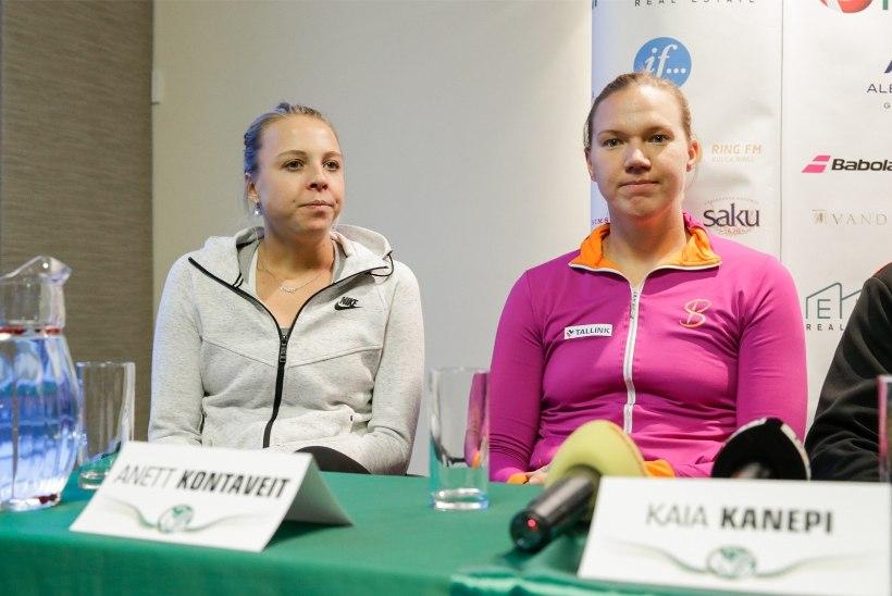 Kontaveit ja Kanepi üritavad viia Eesti naiskonna Maailmaliiga lävele