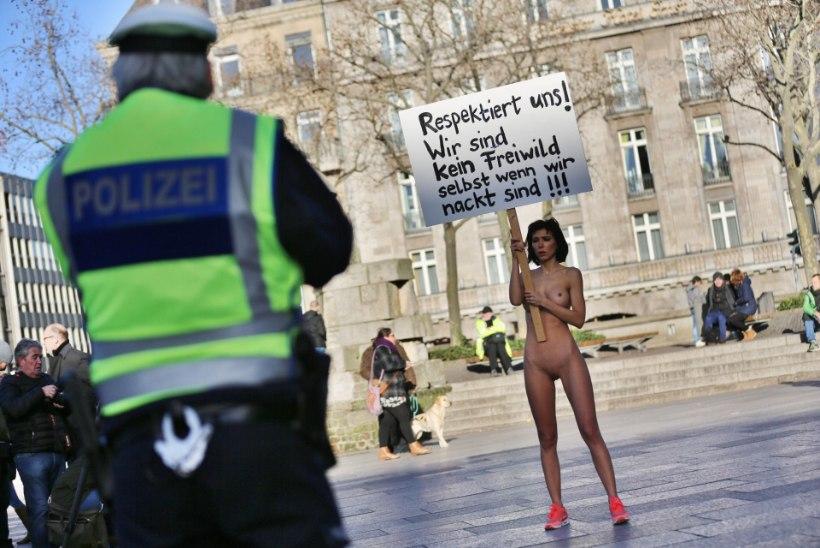 Naiskunstnik migrantidele: me ei ole ka alasti jahisaak