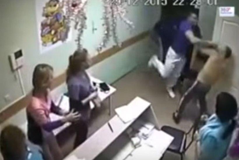 VIDEO   Võimalik vaid Venemaal: arst peksis patsiendi surnuks