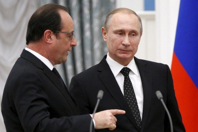 Putin kergendas Hollande'i murekoormat, tühistades riigivisiidi Prantsusmaale