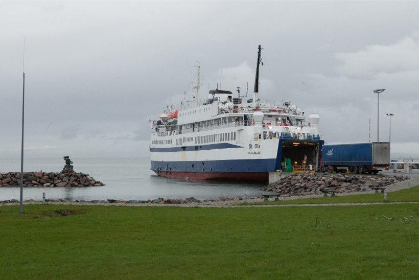 Jaanuarist võib jääda mandri ja saarte vahele sõitma ainult kaks laeva