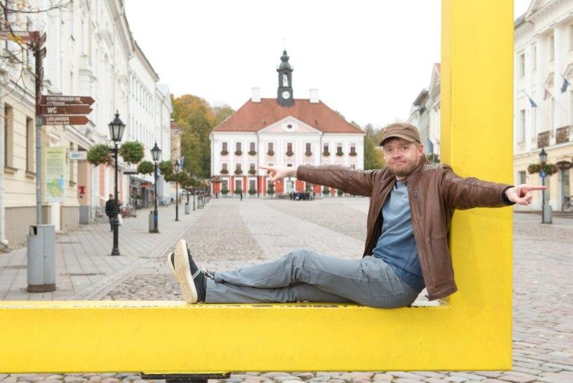 """Ott Sepp: """"Maailm on hälvikuid täis ja koomiku jaoks on see puhas kuld."""""""