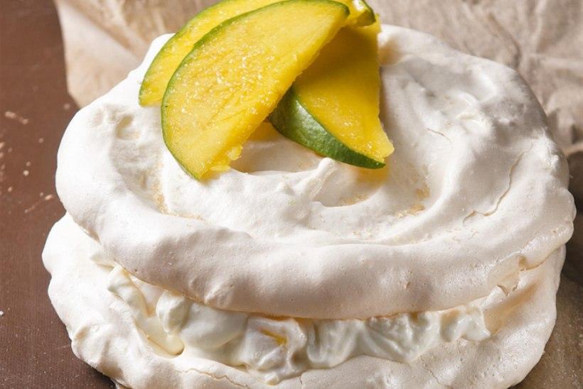 Beseekook ingveri-mangokreemiga
