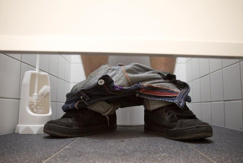 WC-potist lastakse alla supikulpe, mänguasju, kartuleid, sukkpükse ja muud lõbusat