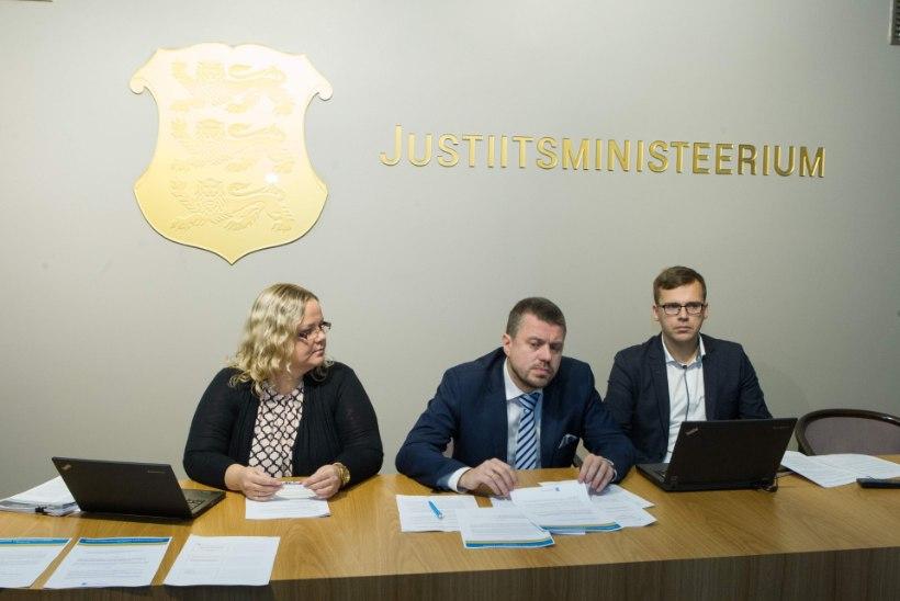Justiitsministeerium karmistab karistuspoliitikat: retsidivistid, hoidke alt!