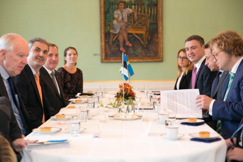 Peaminister Rõivas: Rootsist on saanud Eesti olulisim majanduspartner