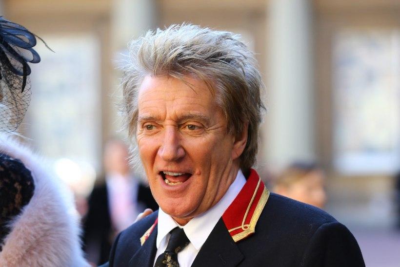 Prints William lõi Rod Stewarti rüütliks