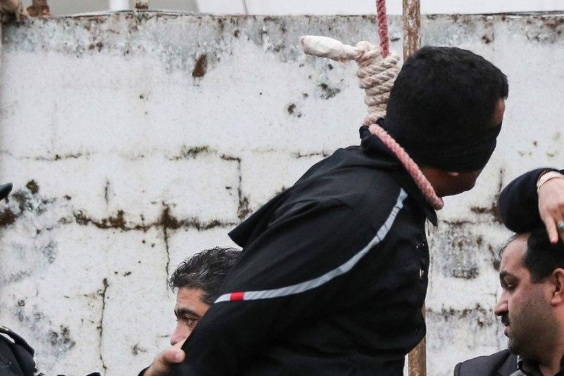 Iraanis puuakse noor naine, keda süüdistatakse vägivaldse mehe tapmises