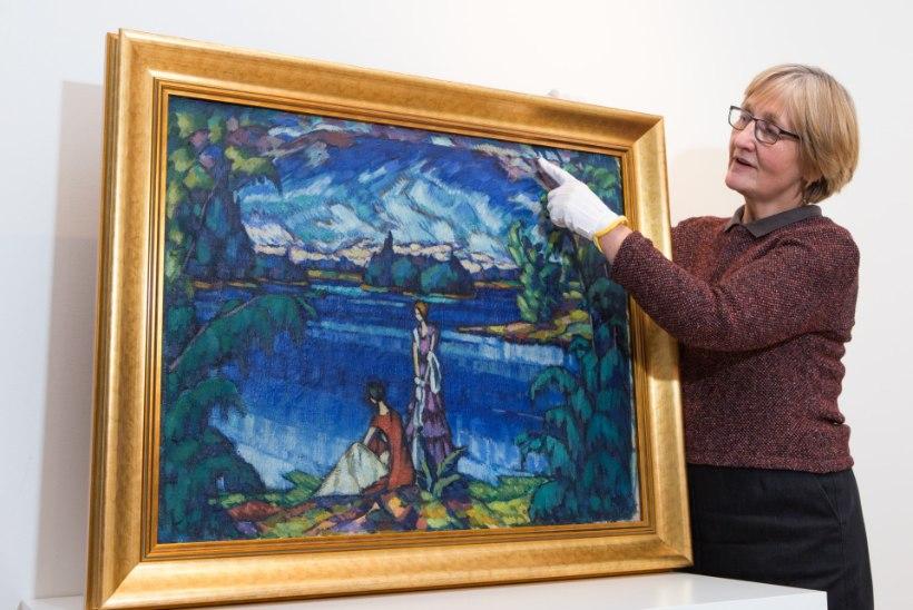 Konrad Mäeseni teadmata miljonimaal pääses näitusele tänu koduremondile
