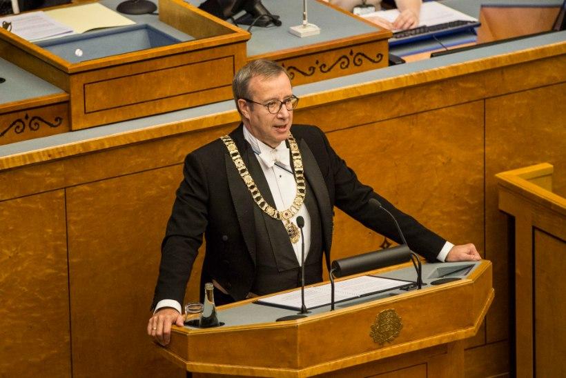 JOKK ÄRMA MOODI: Ilvese kodutallu uputasid sadu tuhandeid eurosid nii EAS kui ka presidendi kantselei