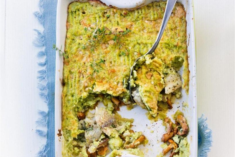 Kalavorm kartuli-brokolipüreega