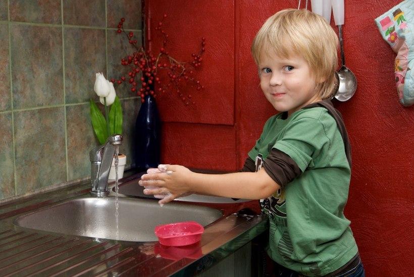 Külmetushaigusesse nakatumine algab sageli hooletust kätepesust