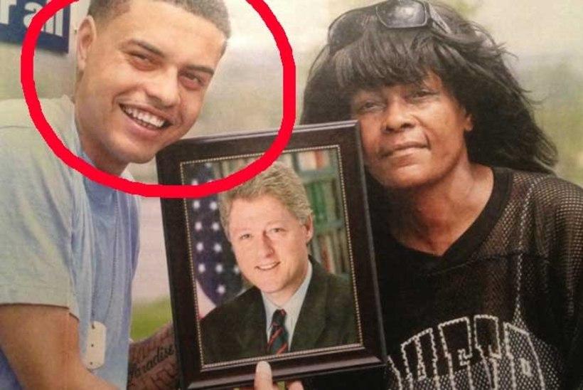 Kas Bill Clintonil on mustanahaline sohipoeg?