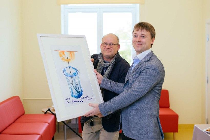 Ida-Tallinna Keskhaigla kirurgiakliinikus avati uued palatid