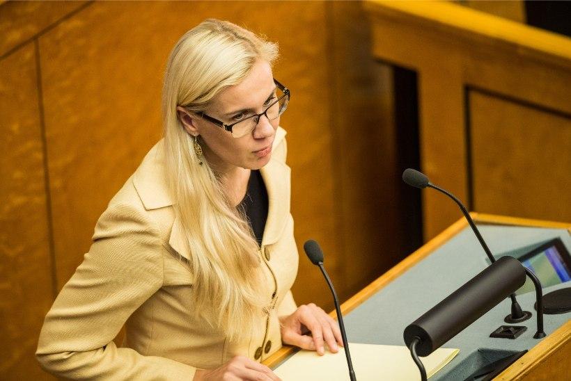 Kadri Simson: Eesti aktsiisipoliitika on täiesti rappa jooksnud